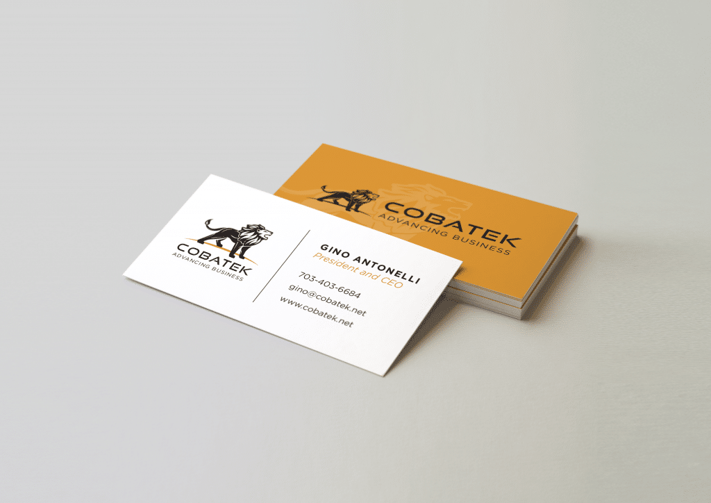 Business Card Design for Consulting Company