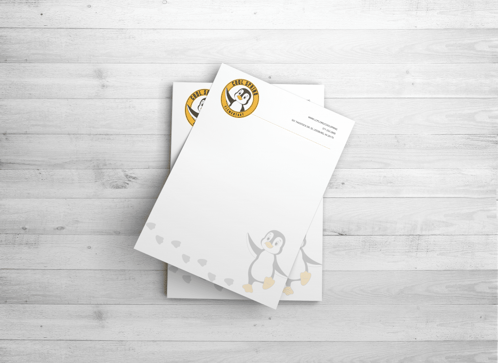 Letterhead Identity Design