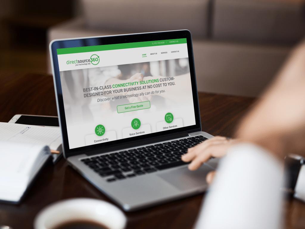 Website Design for a Technology Business