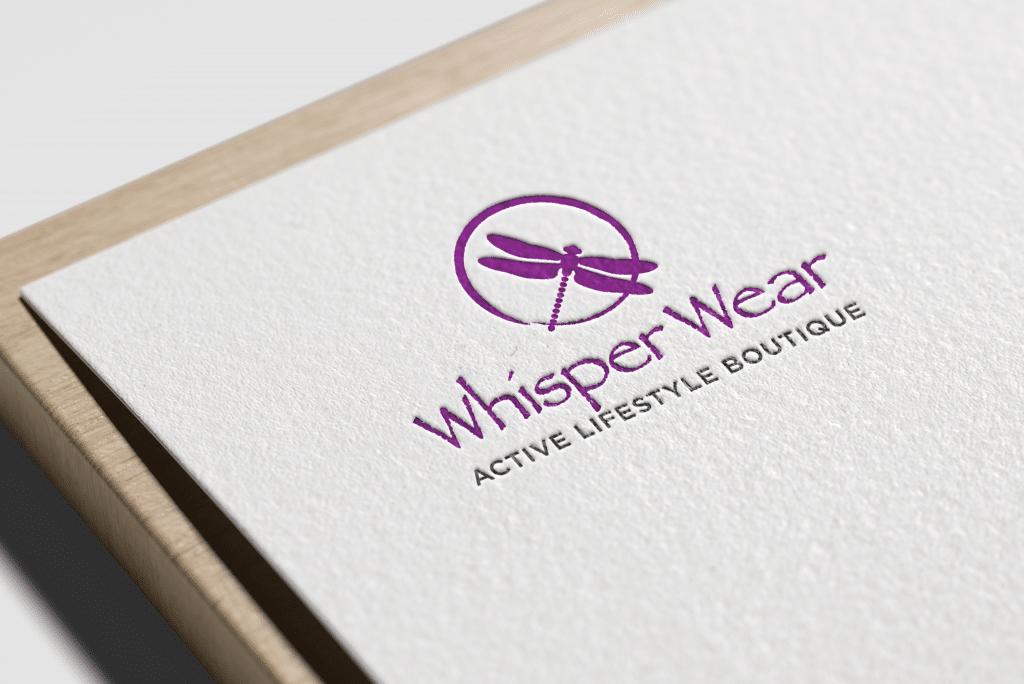 Whisper Wear Branding
