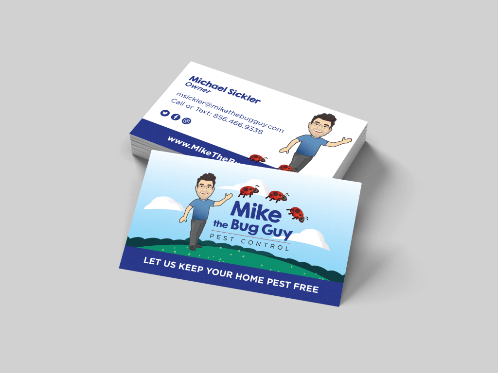 Mike the Bug Guy Business Card