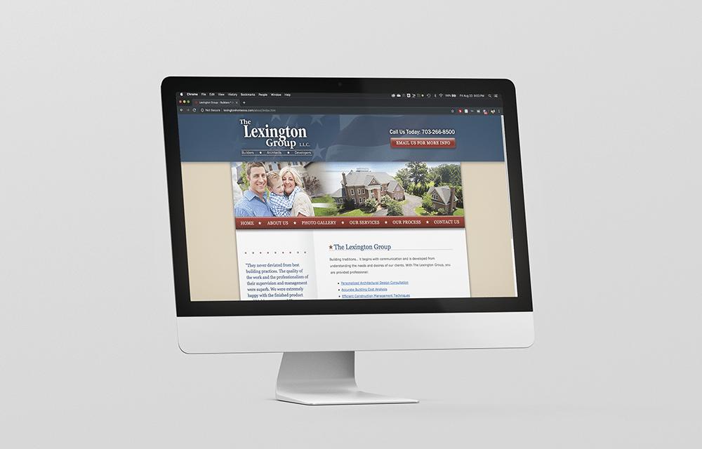 Home Builder Custom Web Design