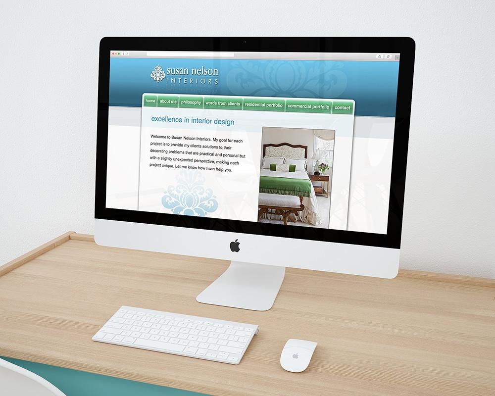 Interior Designer Web Site Design