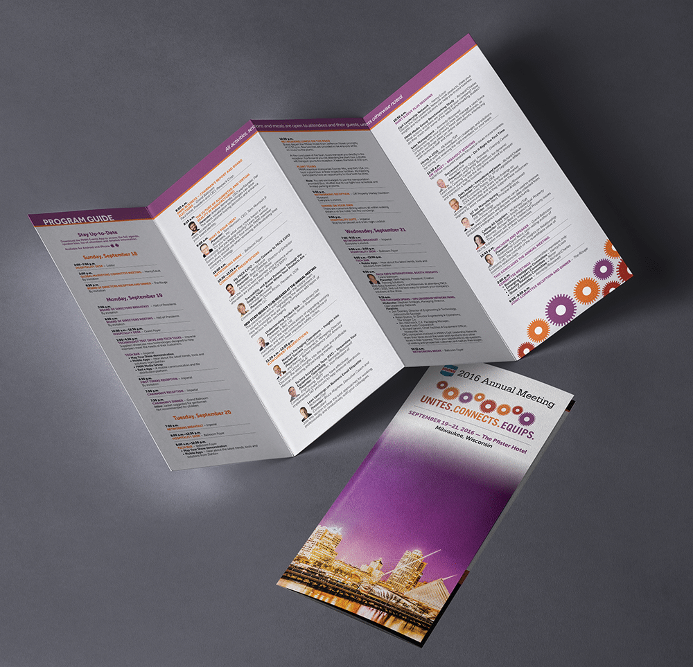 Annual Meeting Brochure Design