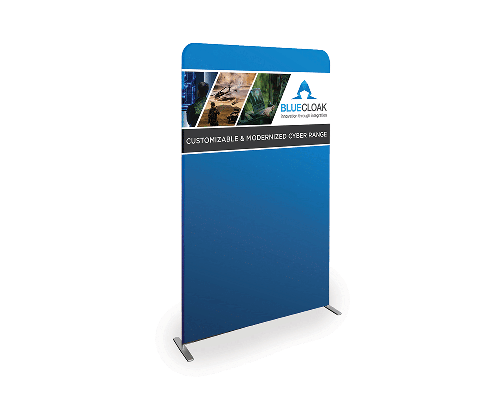 Cybersecurity Banner Stand Design