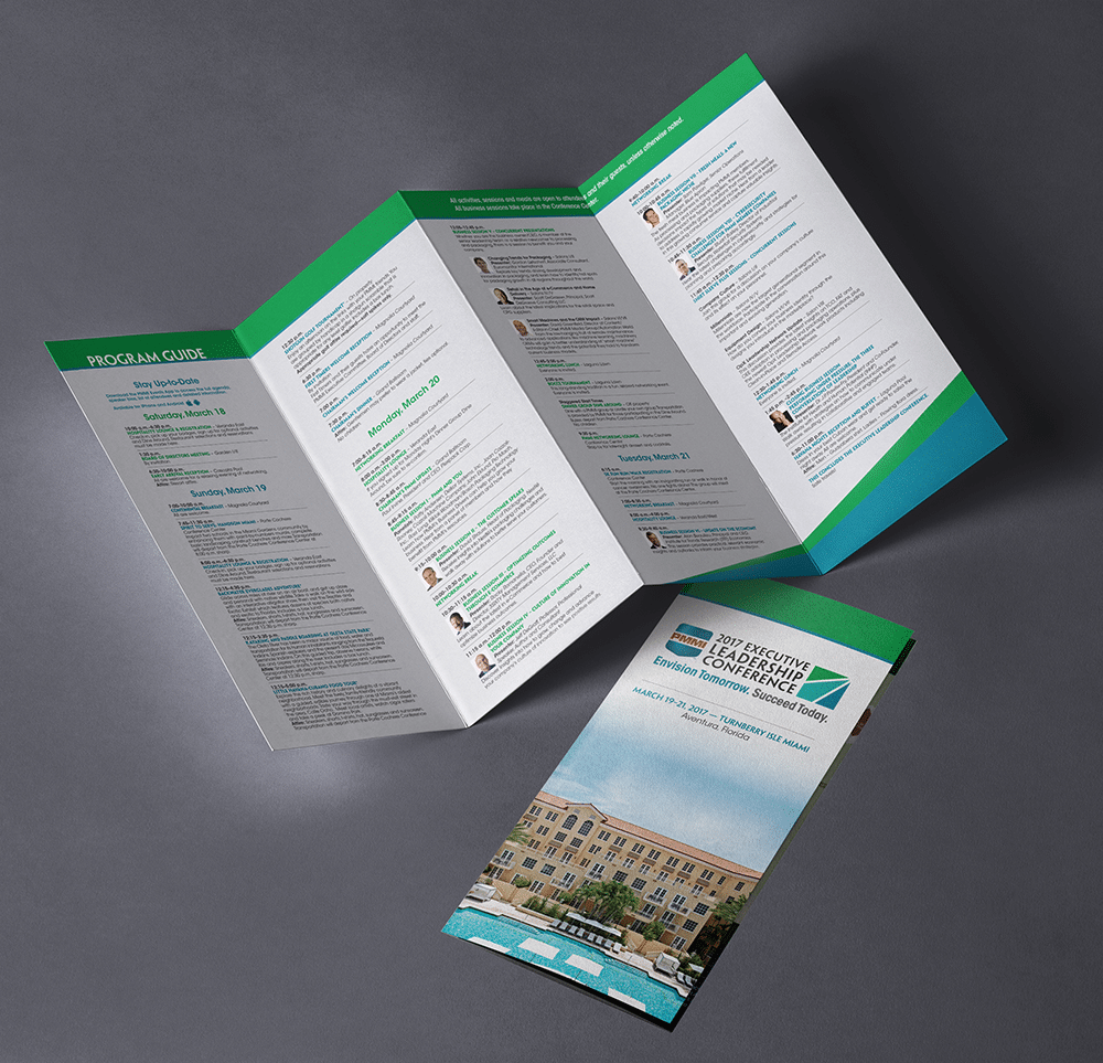 Printed Program Design