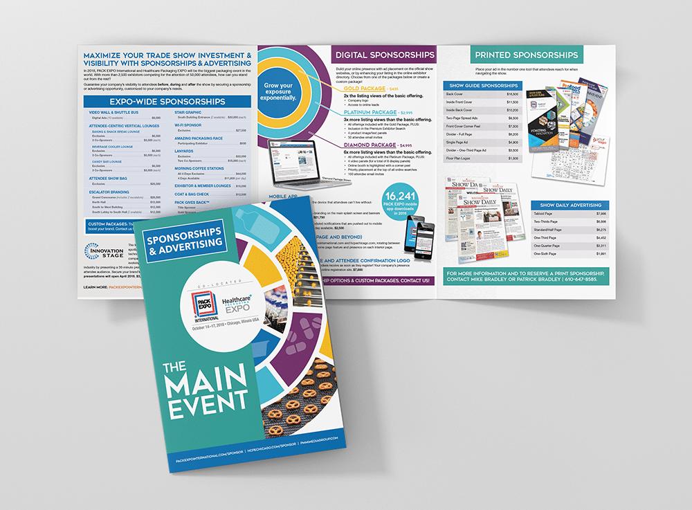 Custom Sponsorship Brochure Design