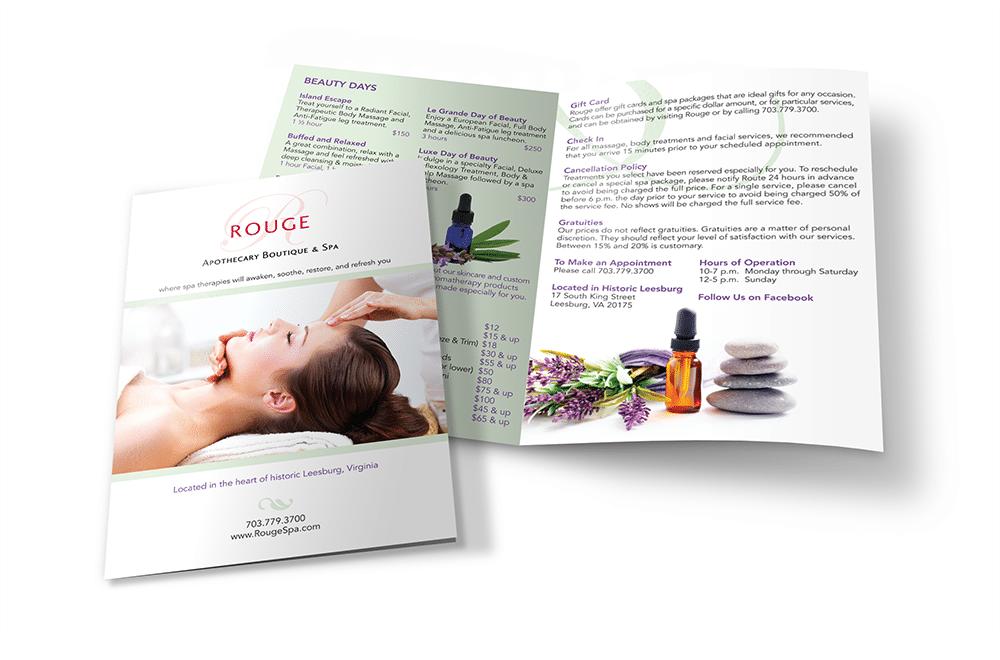 Boutique Bifold Brochure Design